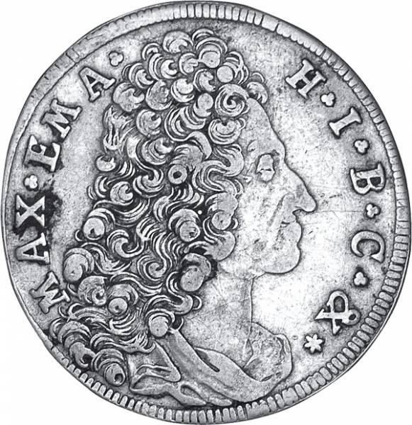 30 Kreuzer Bayern Maximilian II. Emanuel 1715-1726 s-ss