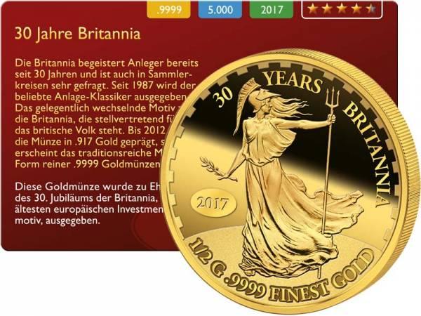 10 Dollars Salomonen Britannia 2017