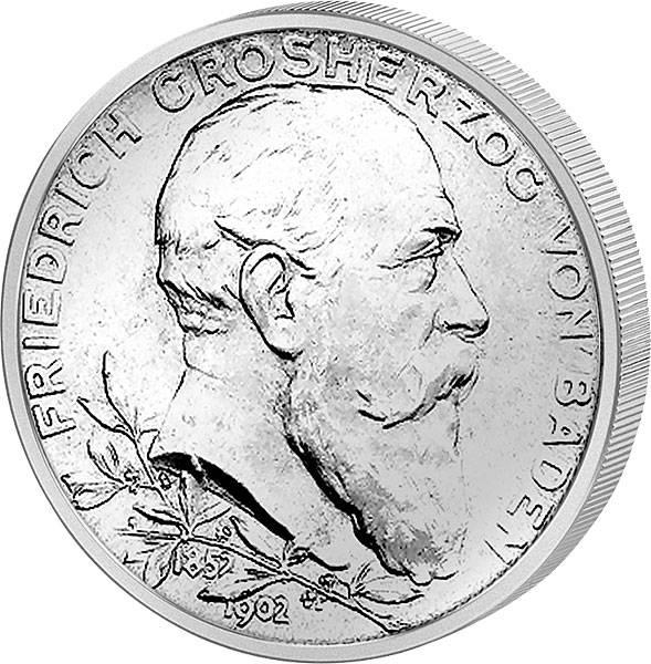 Friedrich I. Großherzog von Baden 1902 ss-vz