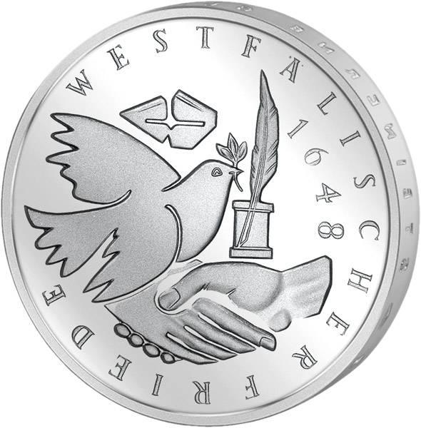 10 DM Westfälischer Friede