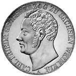 Taler Doppeltaler Carl Friedrich 1840-1848 ss-vz