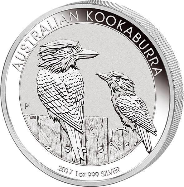 1 Unze Australien Kookaburra 2017