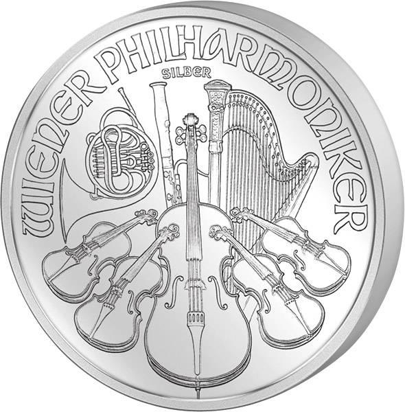 1 Unze Österreich Wiener Philharmoniker 2017