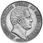 Taler Doppelgulden Friedrich Günther 1846 Vorzüglich