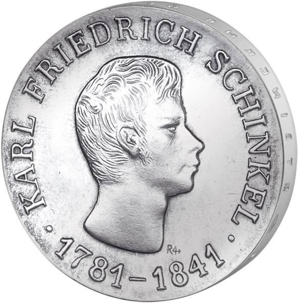 10 Mark  Karl Friedrich Schinkel 1966 A Stempelglanz