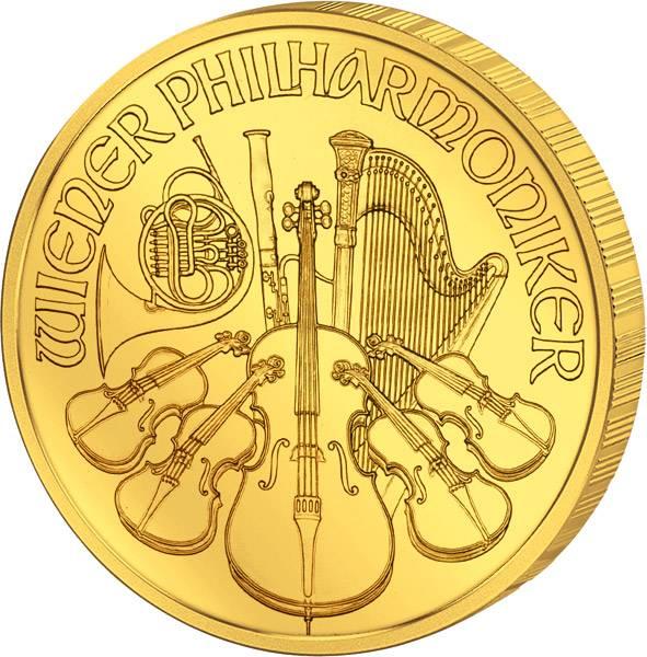 1/2 Unze Österreich Philharmoniker 2017