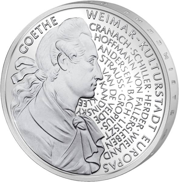 10 DM Weimar Kulturstadt Europas