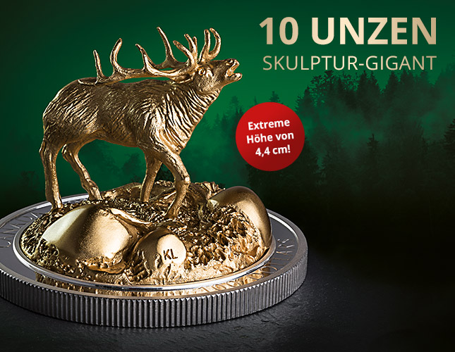 Skulptur-Gigant der Royal Canadian Mint