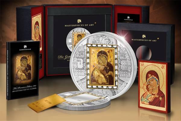 Die Ikone der Gottesmutter Premium-Edition 2013 Polierte Platte