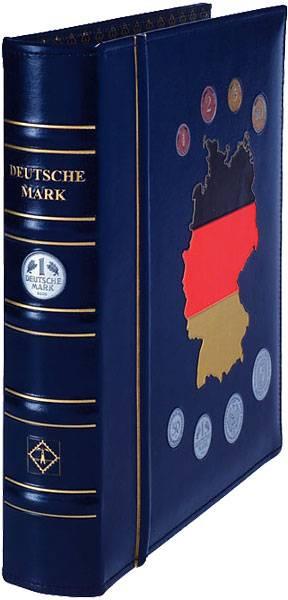 Hochwertiges Leuchtturm Album für DM BRD-Münzen