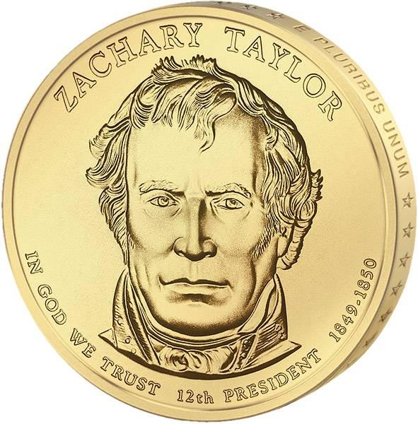 1 Dollar USA Zachary Taylor 2009 Stempelglanz