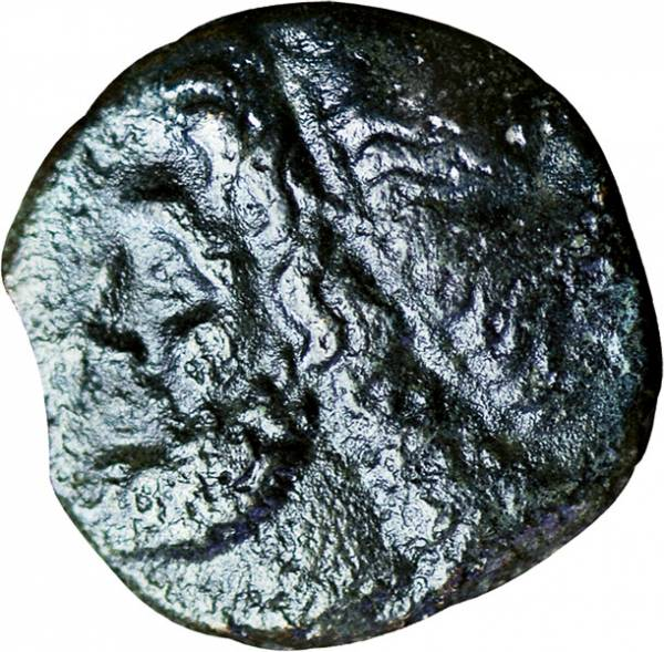 Kleinbronze Sizilien König Hieron II 275-216v.Ch.  s-ss