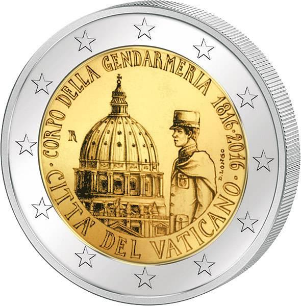 2 Euro Vatikan 200 Jahre Gendarmeriekorps