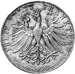 Taler Doppelgulden 3. Säcularfeier 1855  vz-st