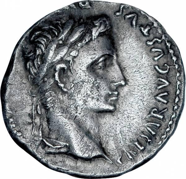 Denar Rom Kaiser Augustus