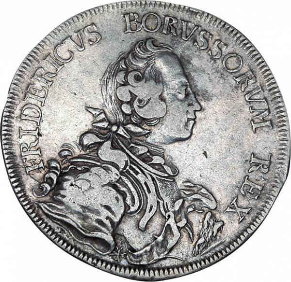 Reichstaler Preußen König Friedrich der Große
