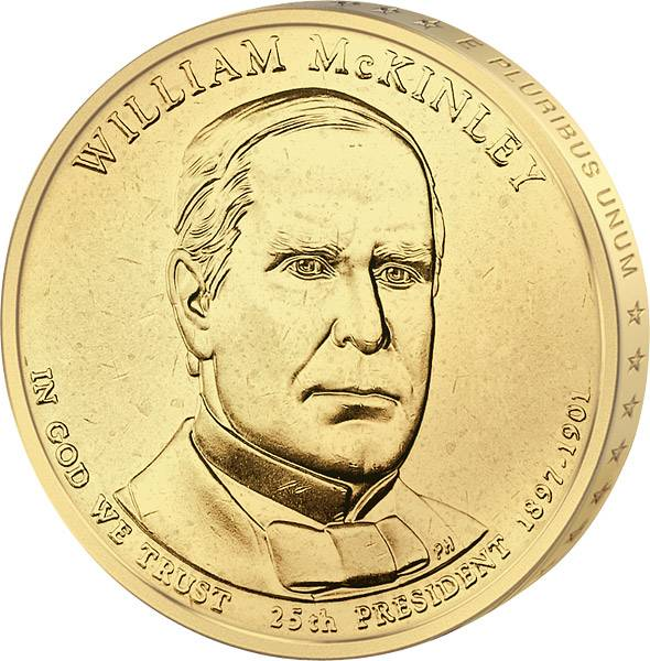 1 Dollar USA William McKinley 2013 Stempelglanz