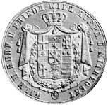 Taler Doppeltaler Wilhelm II. und Friedrich Wilhelm 1844-1845  ss-vz