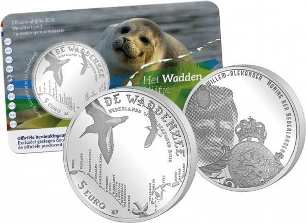 5 Euro Niederlande Wattenmeer
