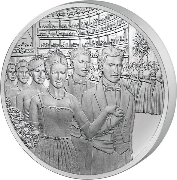 20 Euro Österreich Wiener Opernball 2016 Polierte Platte (PP)