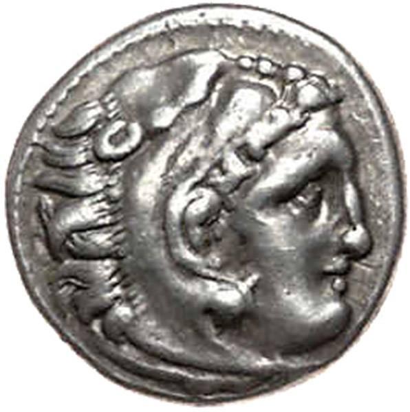 Drachme Makedonien Alexander III. 336-323 v.Chr. ss-vz