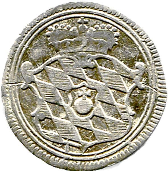Bayern Landmünze Kurfürst Maximilian III. 1754 sehr schön