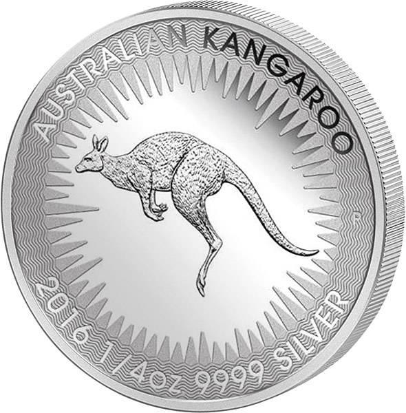 1/4 Unze Australien Känguru 2016