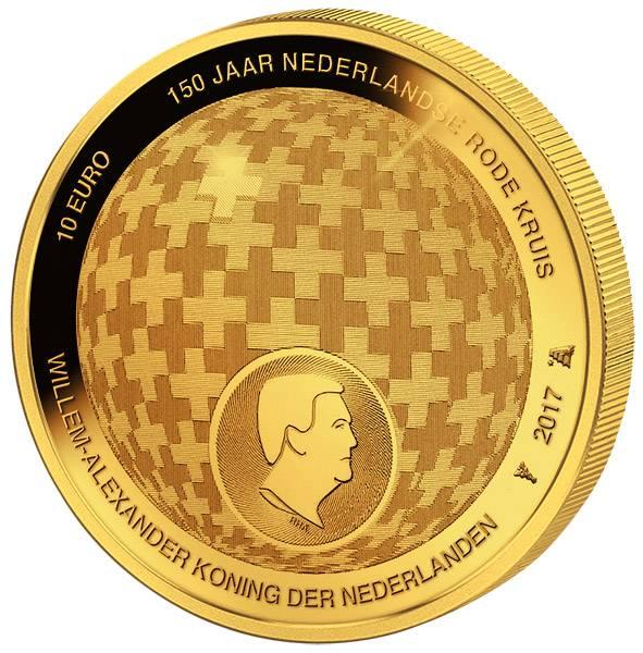 10 Euro Niederlande 150 Jahre niederländisches Rotes Kreuz 2017