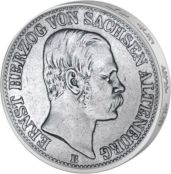 Vereinstaler Herzog Ernst