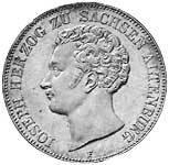Taler Doppeltaler Joseph 1847 ss-vz