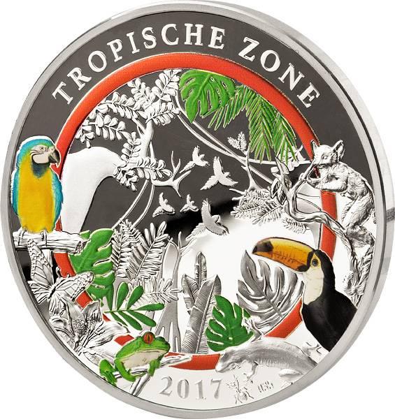 Gedenkprägung Tropische Zone 2017