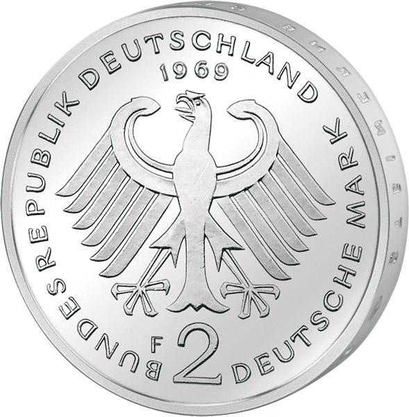 4 X 2 Dm Brd Jahrgangssatz Adenauer Online Kaufen Reppa