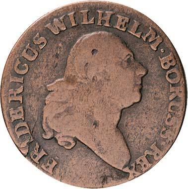Groschen König Friedrich Wilhelm II. 1796-1797 Sehr schön