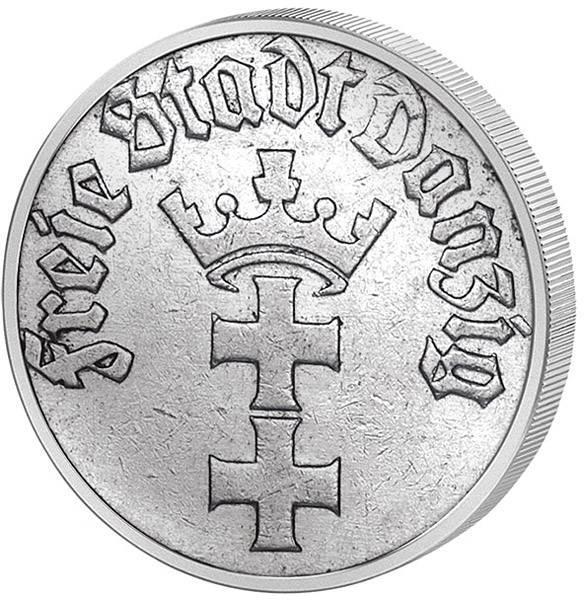 1/2 Gulden Freie Stadt Danzig