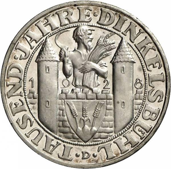 3 Reichsmark Weimar Dinkelsbühl