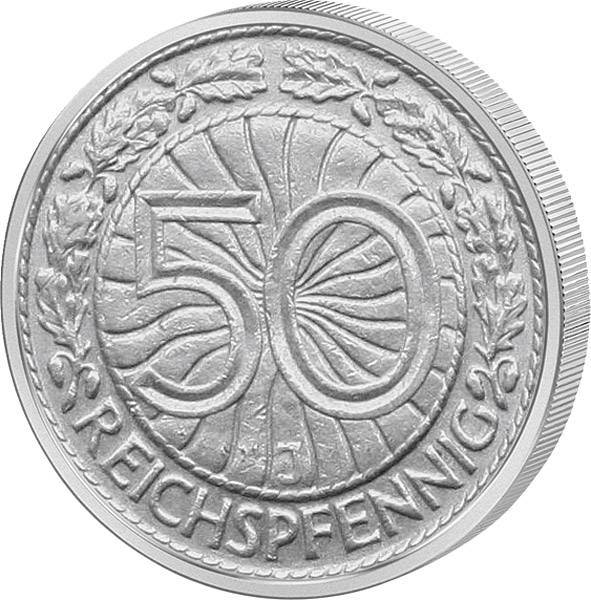 50 Pfennig Adler