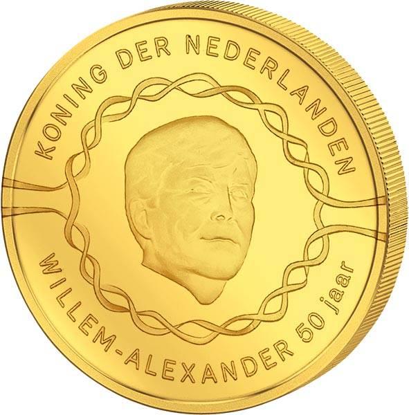 20 Euro Niederlande 50. Geburtstag von Willem-Alexander 2017