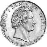 Taler Geschichtstaler Ludwig I. 1830 vz-st