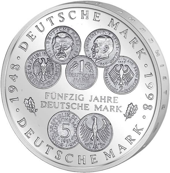 10 DM 50 Jahre Deutsche Mark