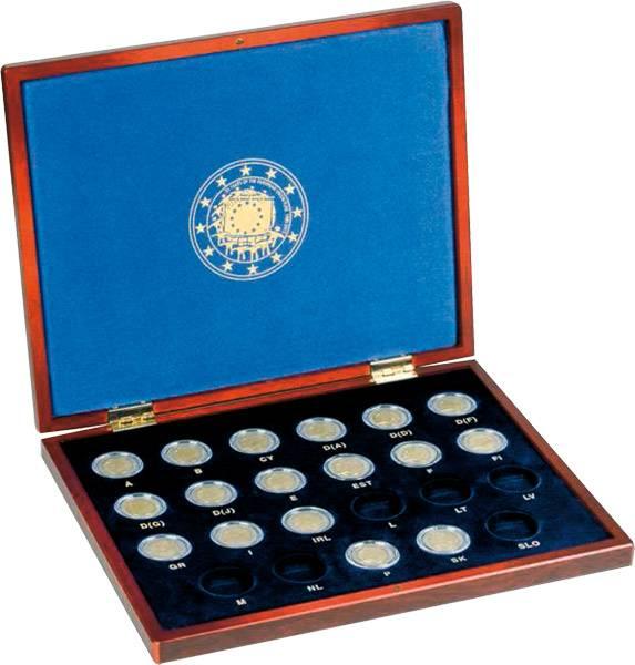 Münzkassette für 2 Euro Gedenkmünzen 30 Jahre Europaflagge