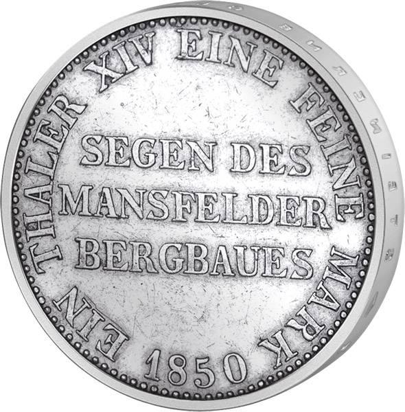 Taler Ausbeutetaler Friedrich Wilhelm IV. 1842-1852 Sehr schön