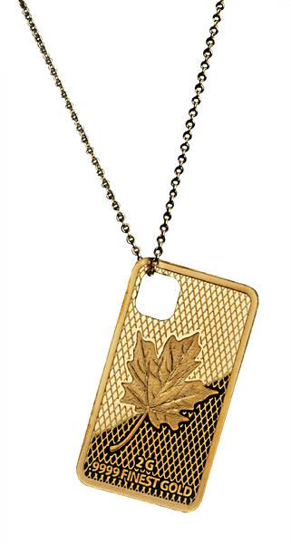 10 Dollars Salomonen Jewelry Investment Maple Leaf