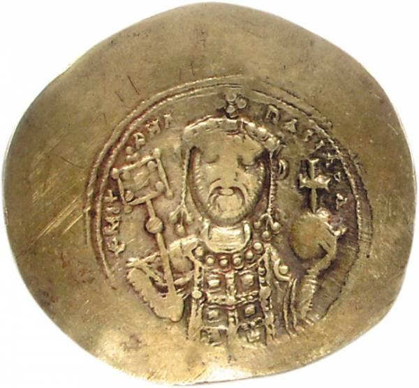 Histamenon Byzanz Kaiser Michael VII. Dukas