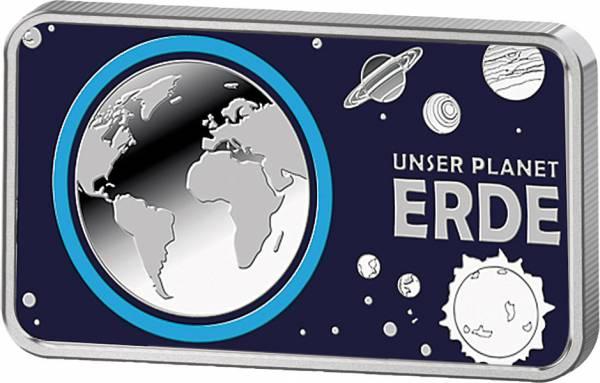 Silberbarren Unser Planet Erde