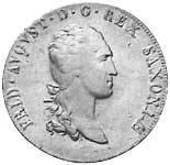 Taler Ausbeutekonventionstaler Friedrich August I. 1807-1813 ss-vz