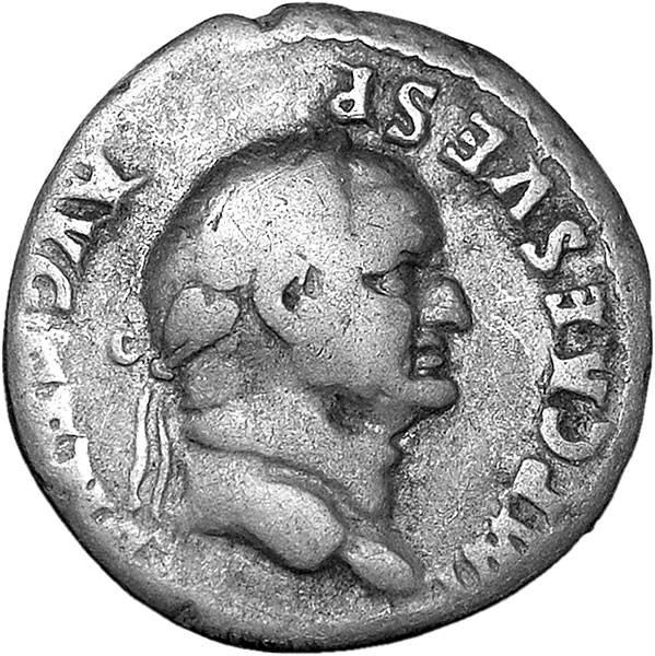 Denar Römisches Kaiserreich Vespasian 69-79n.Chr. s-ss