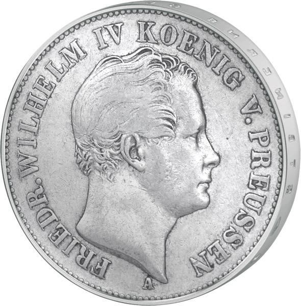 Taler Preußen Friedrich Wilhelm IV. 1842-52 sehr schön