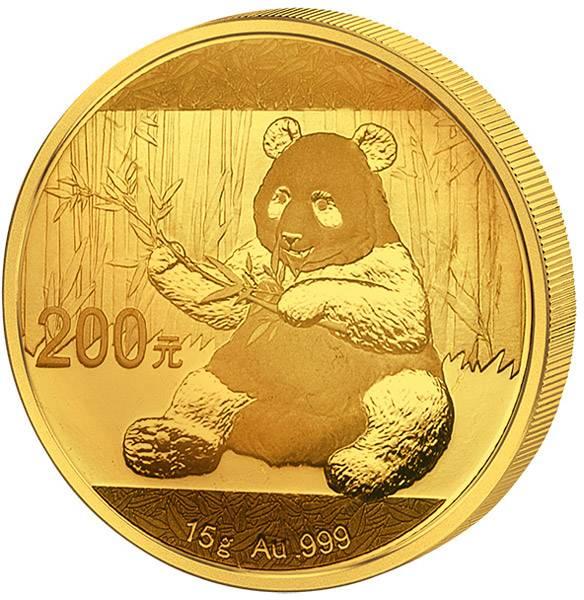 200 Yuan China Panda 2017