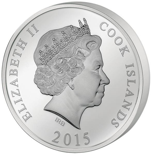 10 Dollars Cook Inseln Deutschland Elbphilharmonie 2015