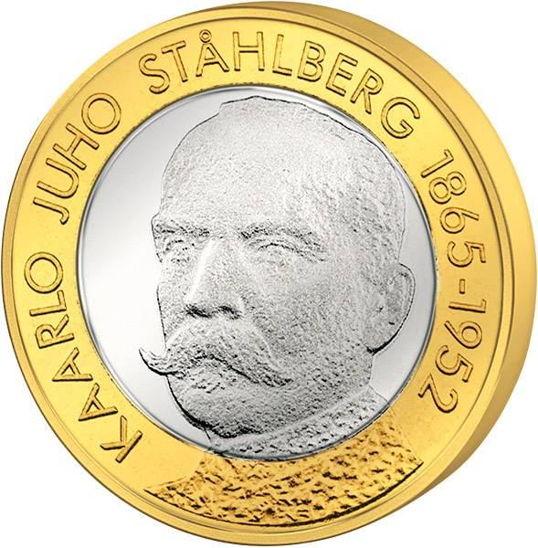 5 Euro Finnland Kaarlo Juho Stahlberg
